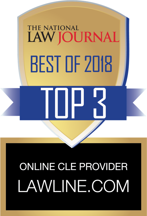 Lawline voted Top Online CLE Provider!